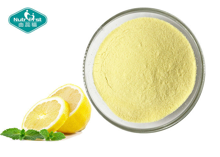 Freeze Dried Lemon Powder / Lemon Juice Fruit Powder For Healthy Immune System